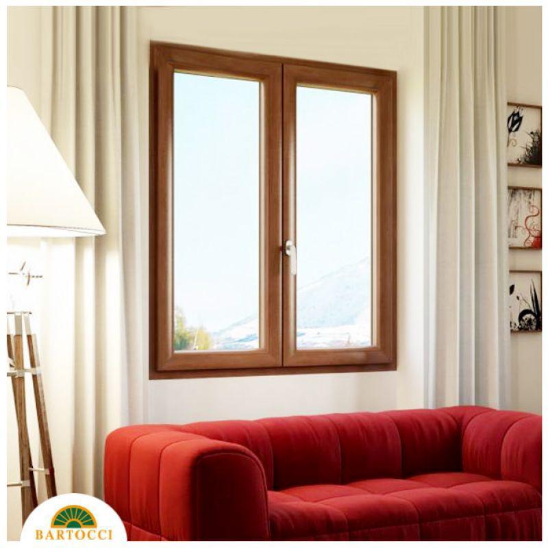 Finestra in legno meranti Roma 4