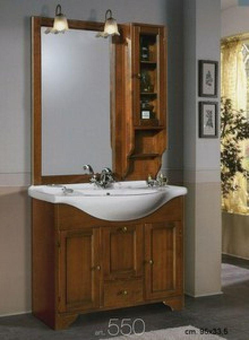 Prezzo arredo bagno con specchiera in arte povera - Mobili bagno berloni prezzi ...