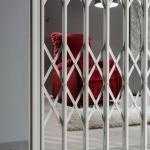 Cancello di sicurezza estensibile verniciato exten