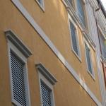 Marcapiano decorativo per facciata