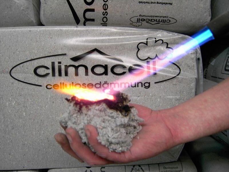 Isolamento fibre di cellulosa Roma 5