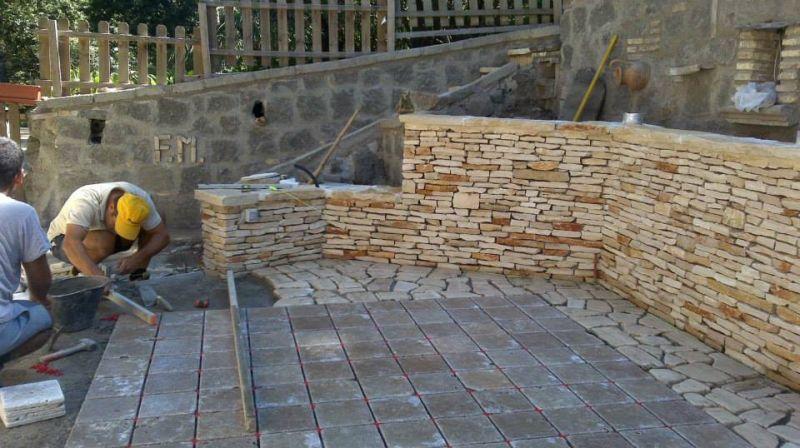Rivestimenti di pietra montana, Marino di Roma 3