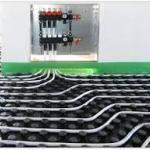 Impianto riscaldamento radiante o a pavimento