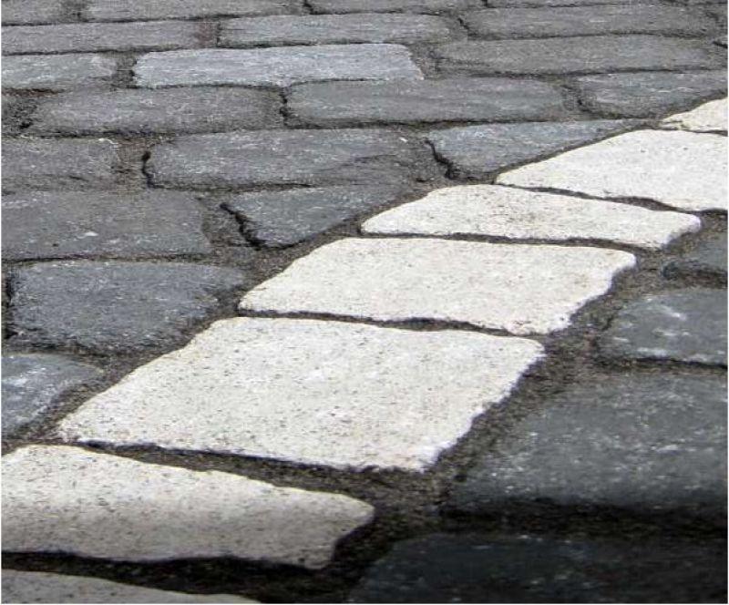 Pavimentazione per esterno, masselli autobloccanti, Marino di Roma 4