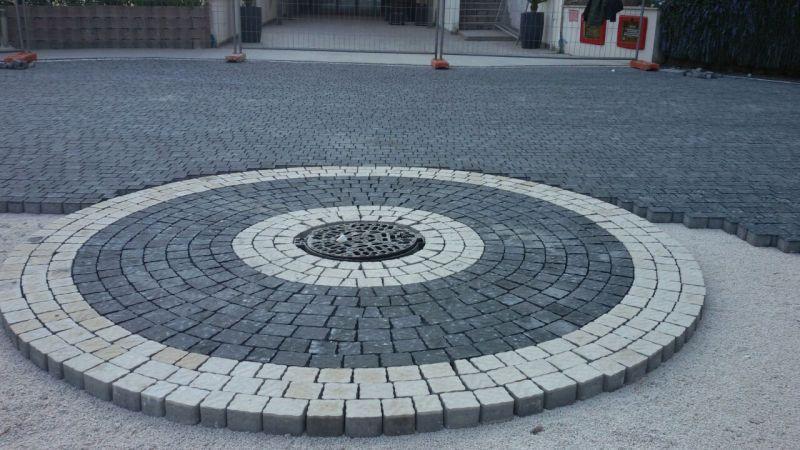 Pavimentazione per esterno, masselli autobloccanti, Marino di Roma 5