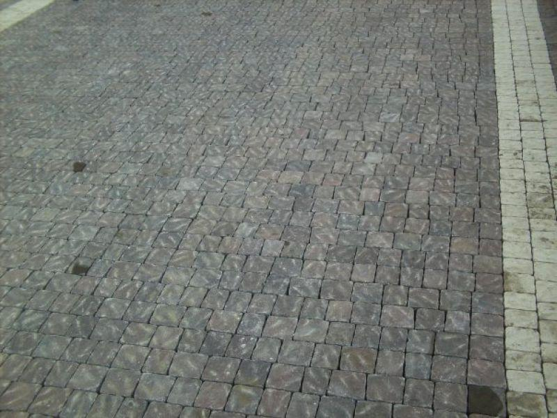 Pavimentazione per esterno, masselli autobloccanti, Marino di Roma 7