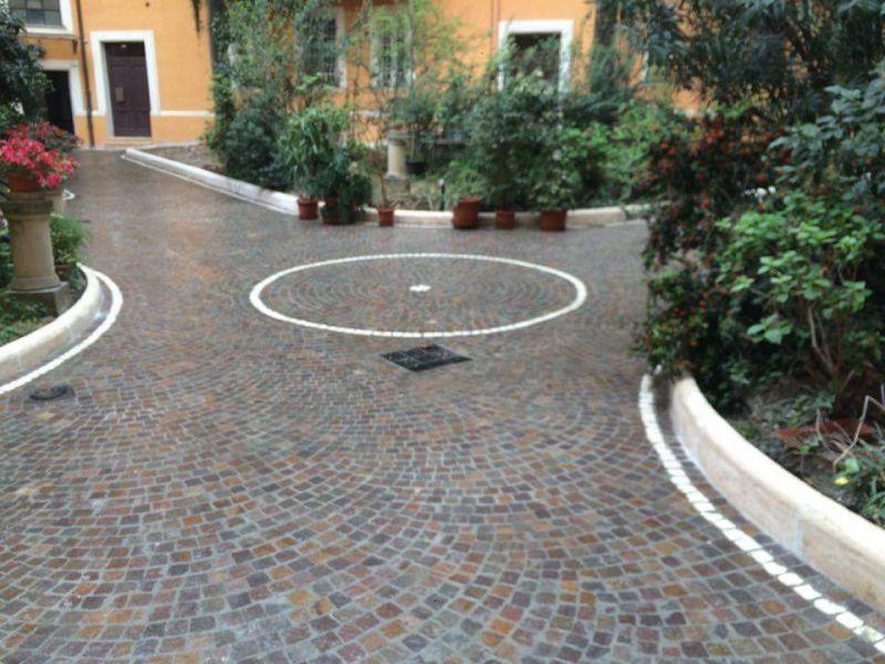 Fornitura e posa di pavimentazione porfido, Marino di Roma 2