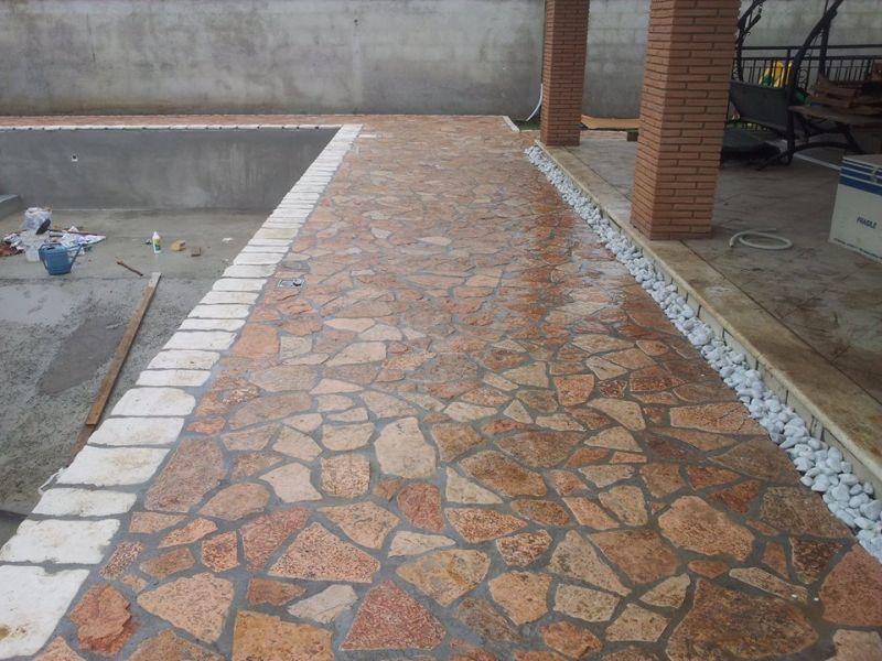 Pavimentazione di ciottoli, Marino di Roma 3