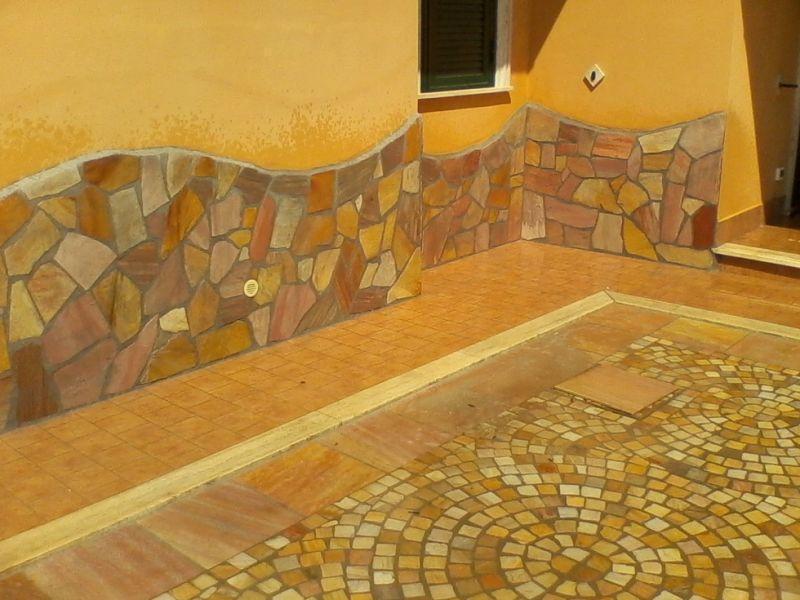 Pavimentazione quarzite brasiliana Marino di Roma 4