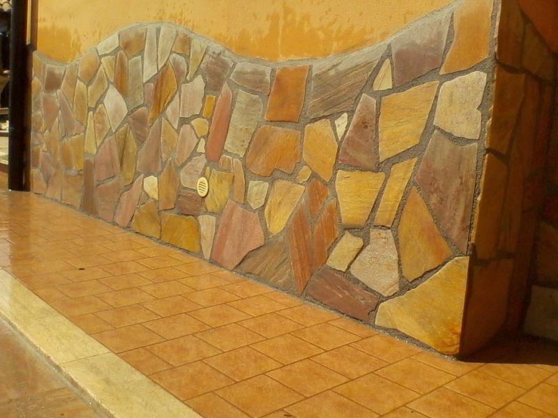 Pavimentazione quarzite brasiliana Marino di Roma 7