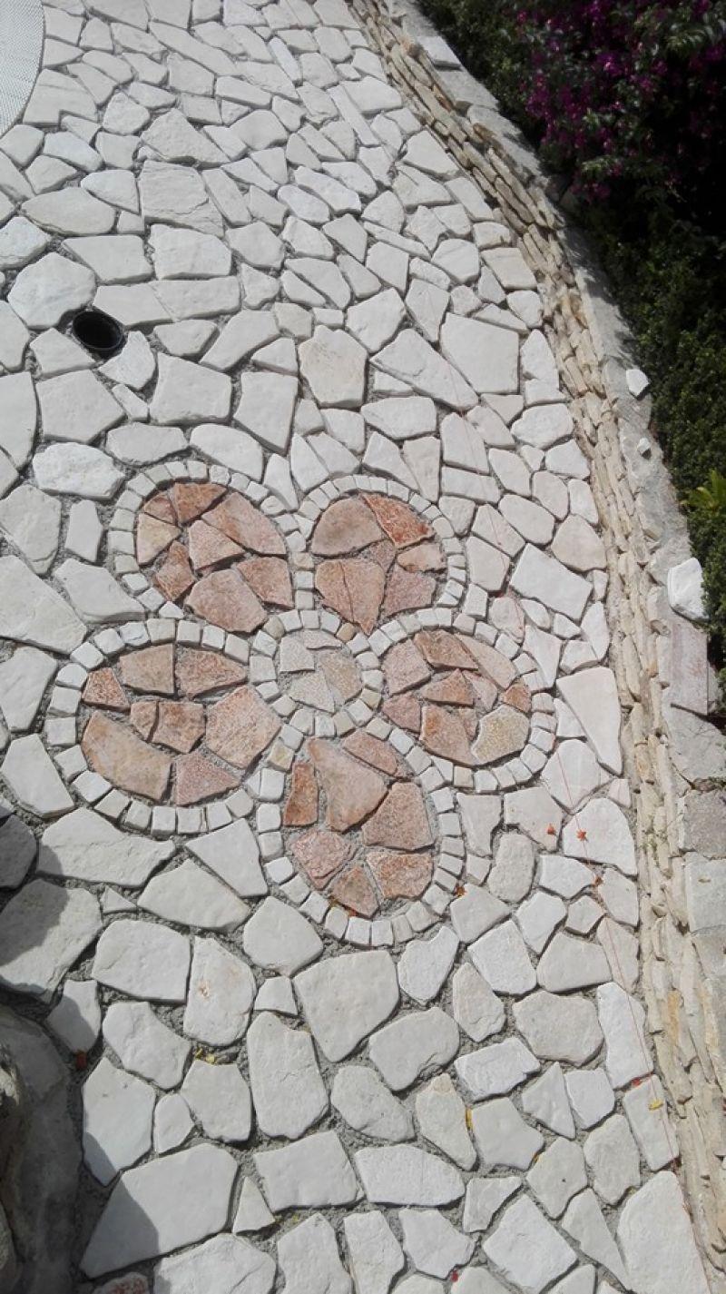 Pavimentazione palladiana mosaico Marino di Roma 4