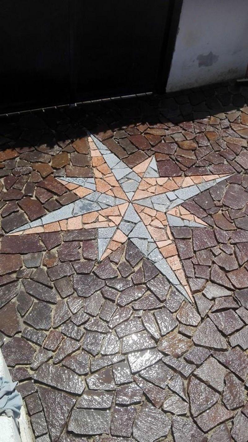 Pavimentazione palladiana mosaico Marino di Roma 6