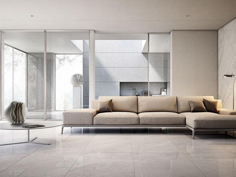 Prezzo gres porcellanato lappato effetto marmo luni for Gres effetto marmo