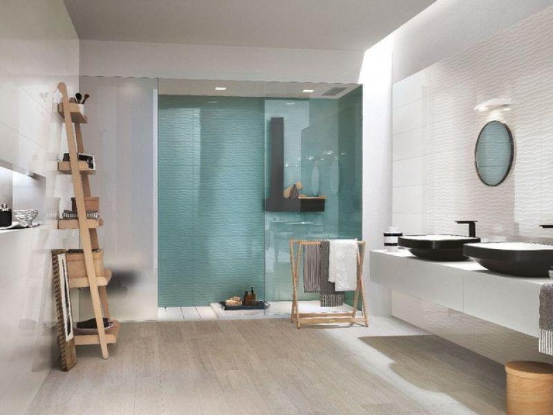 Prezzo rivestimento bagno supercolorato fresh - Arredo bagno iperceramica ...