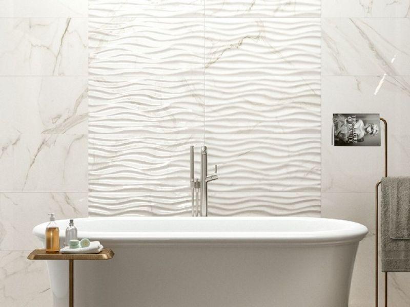 Prezzo: rivestimento in bicottura effetto marmo lucido julia