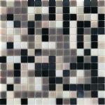 Mosaico in vetro PERLAGRIGIA