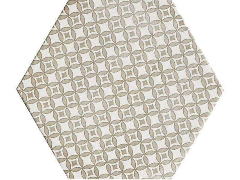 Gres porcellanato esagonale stile maiolica Oltremare 5