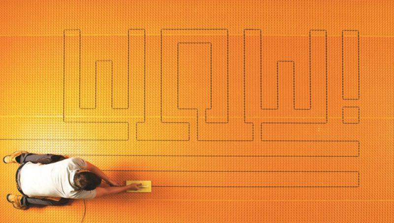 Sistema riscaldamento elettrico Schluter-DITRA-HEAT 2