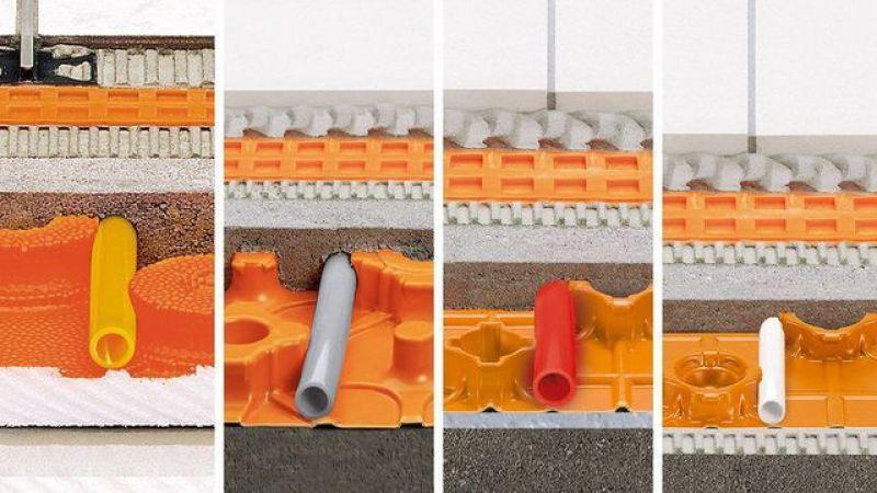 Riscaldamento a pavimento Schluter-BEKOTEC-THERM 3