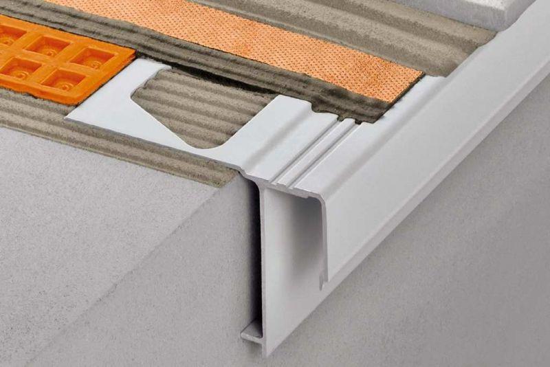 Profili per bordi di balconi e terrazzi Schluter-BARA 2