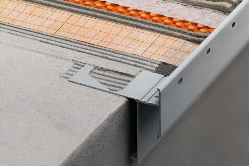 Profili per bordi di balconi e terrazzi Schluter-BARA 3