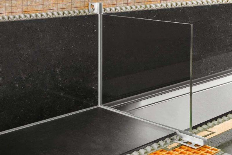 Profilo per alloggiamento vetro Schluter-DECO-SG 1