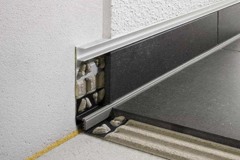 Profilo per alloggiamento vetro Schluter-DECO-SG 2