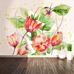 Fotomurale toetzke - giardino di fiori