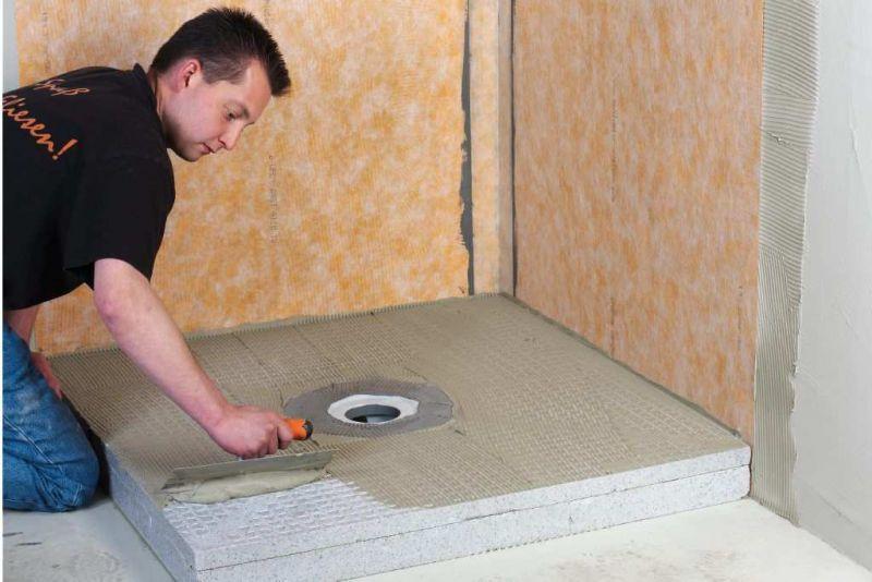 Sistemi per docce filo pavimento Schluter-KERDI-SHOWER-SK-SKB 18