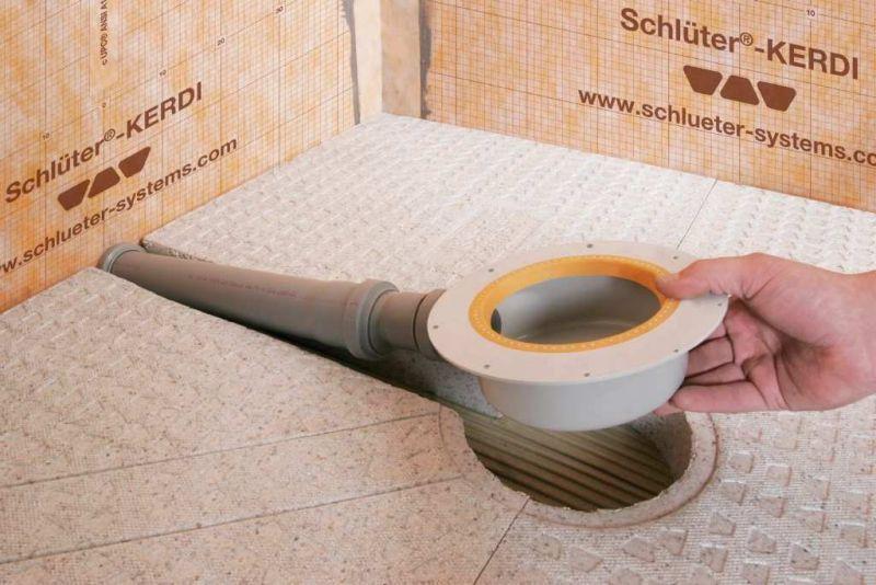 Sistemi per docce filo pavimento Schluter-KERDI-SHOWER-SK-SKB 9