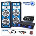 Sistema casse subwoofer amplificatore 1600w