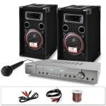 Dj11 set audio professionale 1ampli