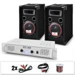 Dj15 set audio professionale 1amplificatore