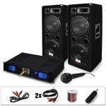 Set dj 20 2000w amplificatore