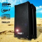 Ibiza sistema audio portatile cd