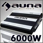 Auna amplificatore auto 6000w 5-4-3