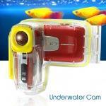Videocamera digitale subacquea rossa trevi