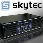 Skytec 2400w amplificatore dj pa