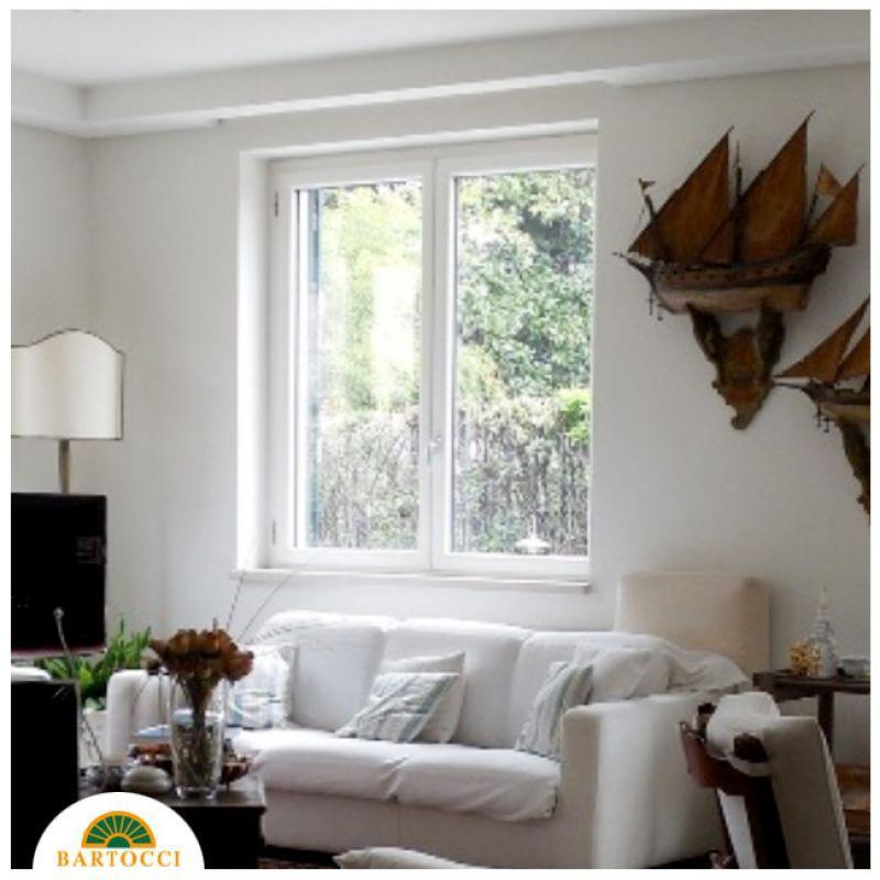 Prezzo finestre linea natura in pvc legno bianco roma for Finestre di legno prezzi
