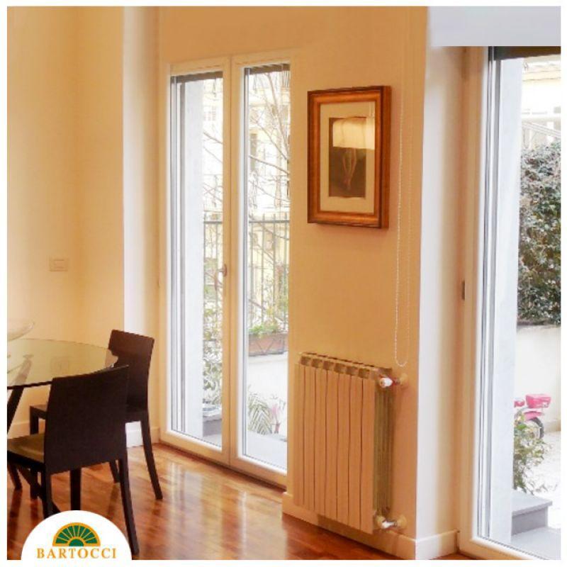 Prezzo finestre linea natura in pvc legno bianco roma - Finestre in legno roma ...