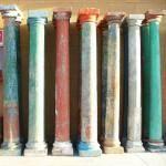 Colonne pietra ottocentesche Alessandria