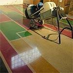 Pavimento cemento colorato