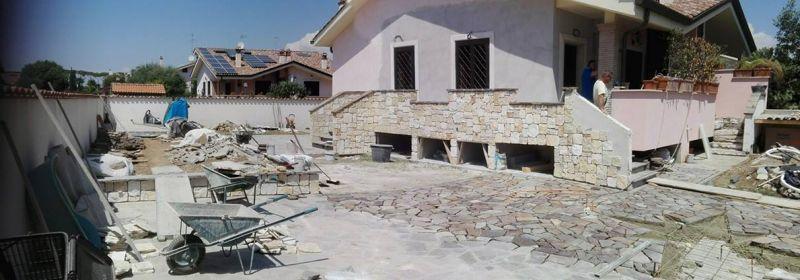 Rivestire con la pietra di Trani, Marino di Roma 5
