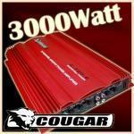 Cougar amplificatore auto 3000w 6-4-3-2