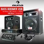 Bass boomer usb set audio