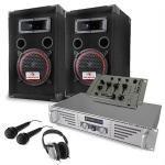 Set completo dj ''starter'' ampli