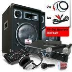 Set audio ''mannheim'' casse amplificatore