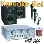 Hifi-pa-dj karaoke set 200w casse