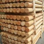 Pali torniti in legno larice garanzia 25
