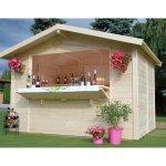 Casetta in legno chiosco 300 x 197